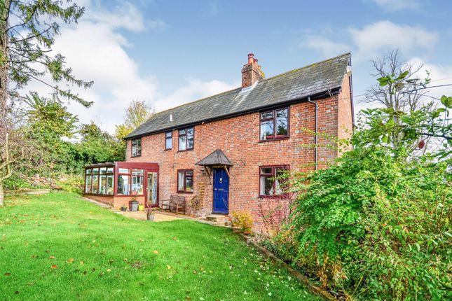Thumbnail Detached house for sale in Stockbridge Road, Kings Somborne, Stockbridge