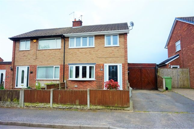 Thumbnail Semi-detached house for sale in Sherwood Road, Rainworth