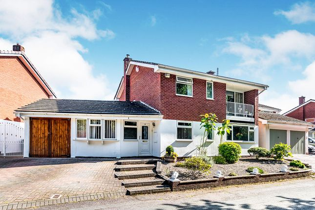 Thumbnail 5 bed detached house for sale in Holmer Lane, Stirchley, Telford, Shropshire
