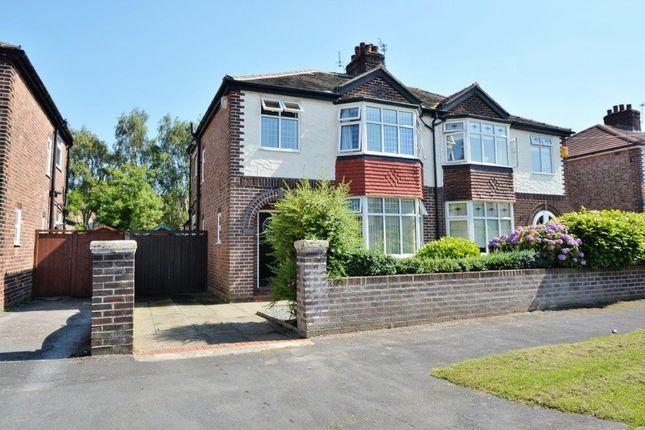 Thumbnail Semi-detached house to rent in Cambrai Avenue, Warrington