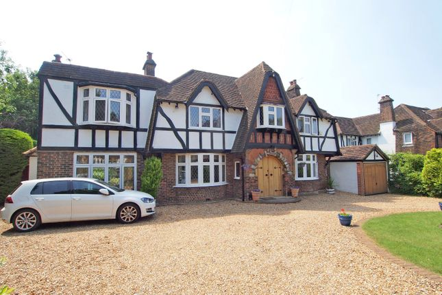 Thumbnail Detached house for sale in Ewell Downs Road, Ewell