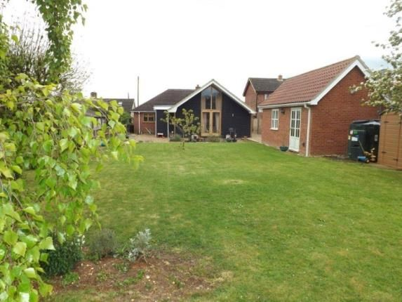 Thumbnail Bungalow for sale in Wicklewood, Wymondham, Norfolk
