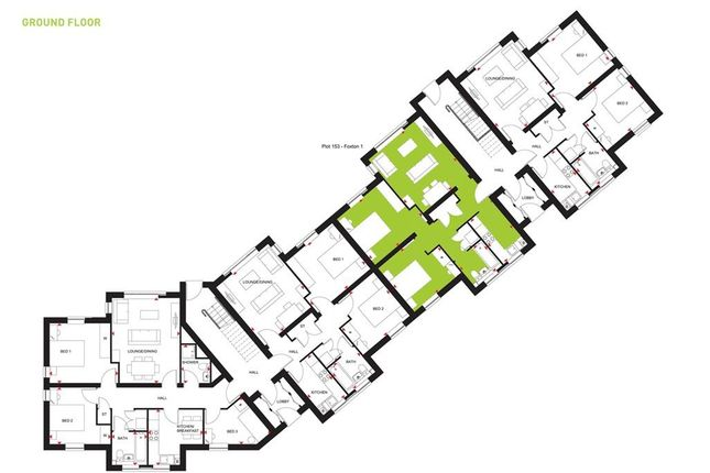 """2 bedroom flat for sale in """"Foxton 1"""" at Beggars Lane, Leicester Forest East, Leicester"""