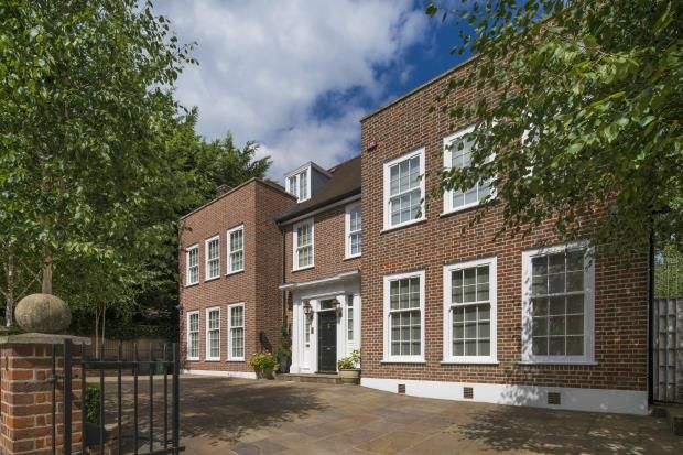 Thumbnail Detached house for sale in Frognal, Hampstead Village, London