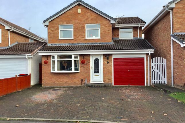 Thumbnail Detached house for sale in Japonica Drive, Leegomery, Telford