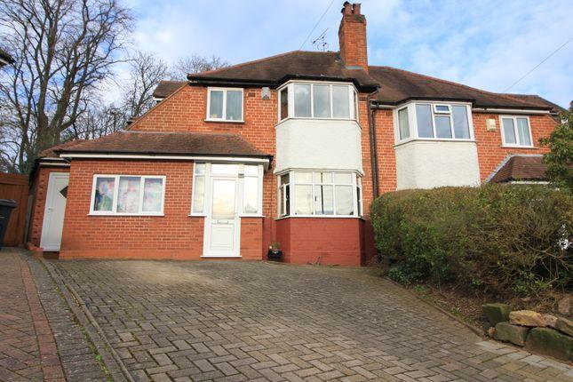 Thumbnail Semi-detached house for sale in Lelant Grove, Harborne, Birmingham