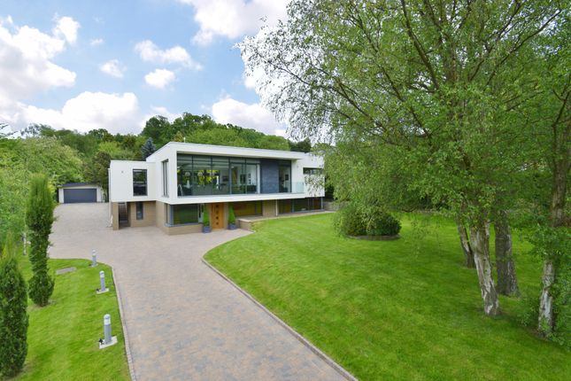 Thumbnail Detached house for sale in The Spinney, Old Road, Ruddington