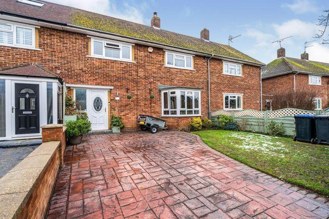 Thumbnail Terraced house for sale in Wellcroft Road, Welwyn Garden City