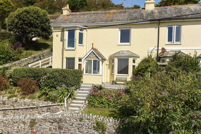 Thumbnail Semi-detached house for sale in South Hill Cottages, Downderry, Torpoint