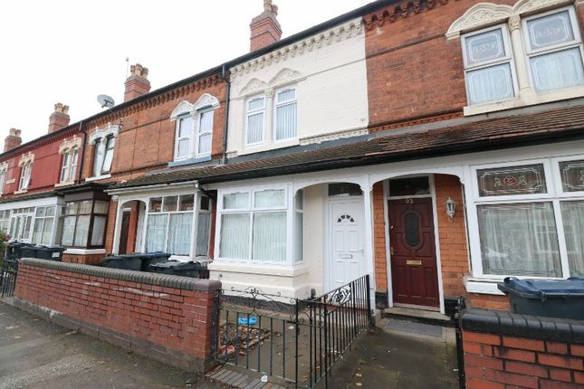Thumbnail Terraced house for sale in The Broadway, Perry Barr, West Midlands