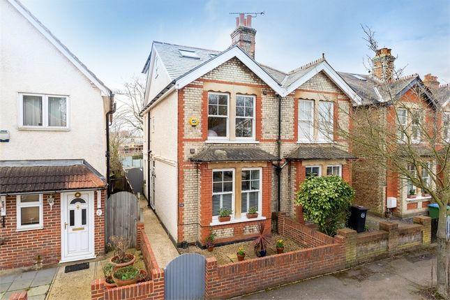 3 bed semi-detached house for sale in Felcott Road, Walton-On-Thames, Surrey KT12