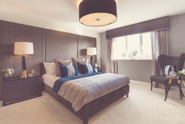 Bedroom of Heatherley Wood Alderley Park, Nether Alderley, Cheshire SK10