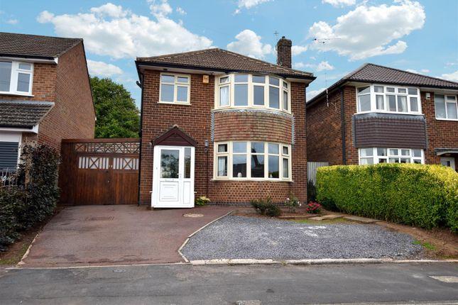3 bed detached house for sale in Curzon Close, Allestree, Derby DE22