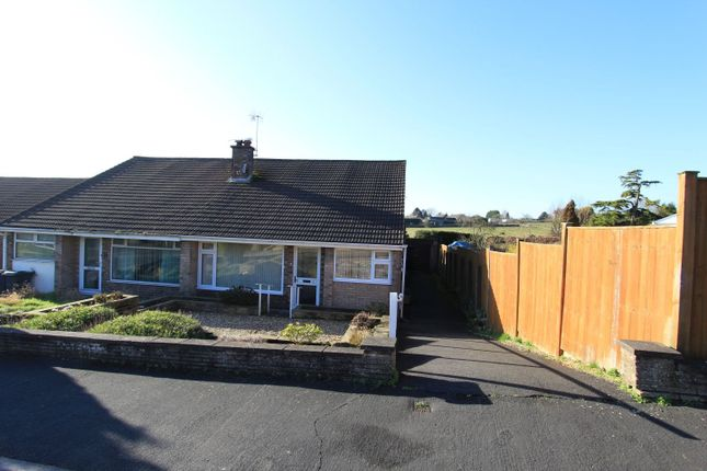 Thumbnail Semi-detached bungalow to rent in Wellington Close, Matlock, Derbyshire