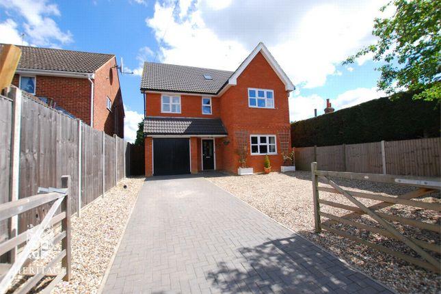 Thumbnail Detached house for sale in Windmill Fields, Coggeshall, Essex