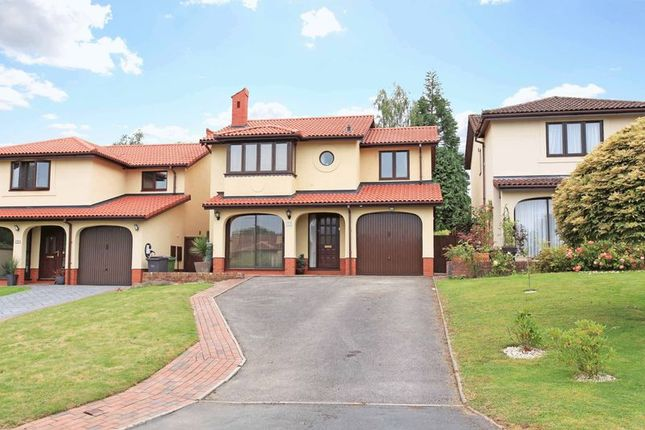 Thumbnail Detached house for sale in Mimosa Close, Sutton Hill, Telford