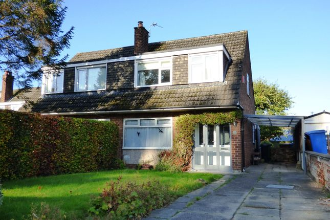 3 bed semi-detached house for sale in Lynton Drive, High Lane, Stockport SK6