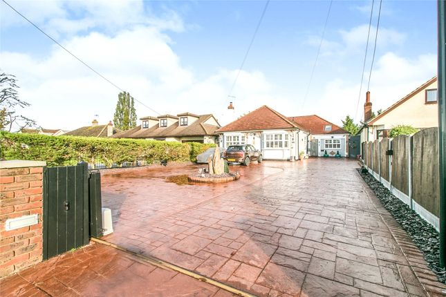 Thumbnail Bungalow for sale in Station Road, West Horndon, Brentwood, Essex