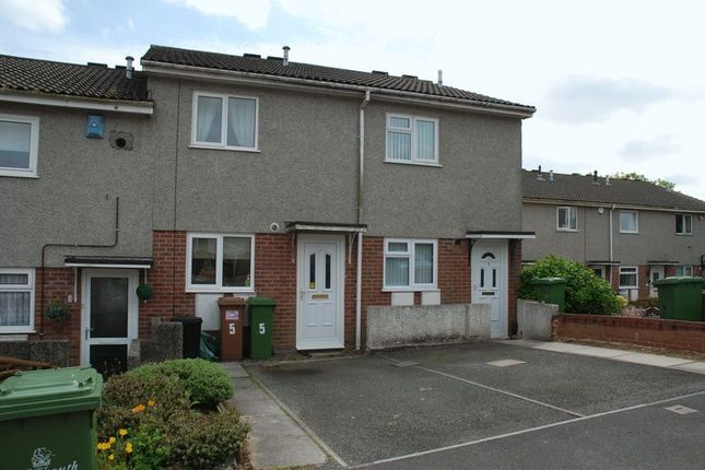 Thumbnail Terraced house to rent in Butler Close, Plymouth
