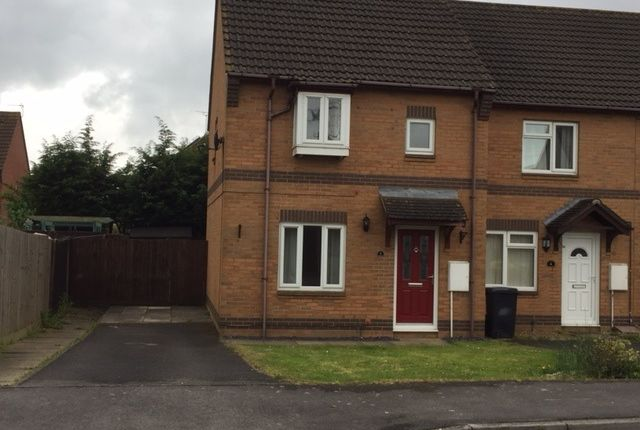 End terrace house for sale in The Barrows, North Somerset