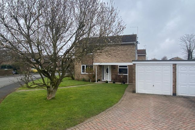 Thumbnail Detached house for sale in Ruskin Close, Rugby