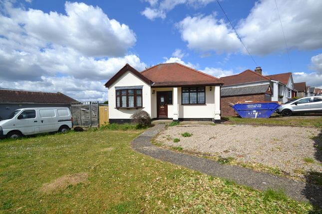 Thumbnail Detached bungalow for sale in Lawns Way, Collier Row, Romford