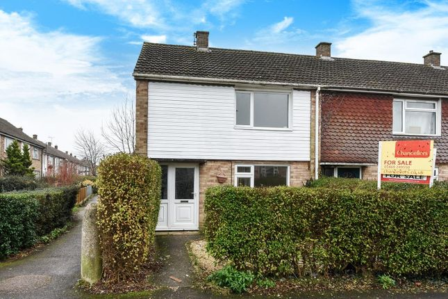 Thumbnail End terrace house to rent in Bicester, Oxfordshire