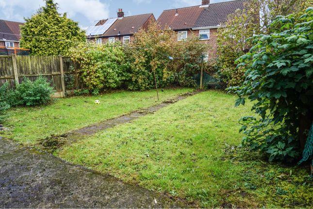 Rear Garden of Darwick Drive, Huyton, Liverpool L36