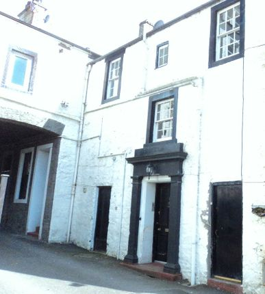 Thumbnail Terraced house for sale in High Street, Moffat, Dumfries And Galloway.
