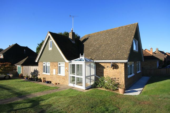 Thumbnail Detached bungalow for sale in Lavant Close, Bexhill On Sea