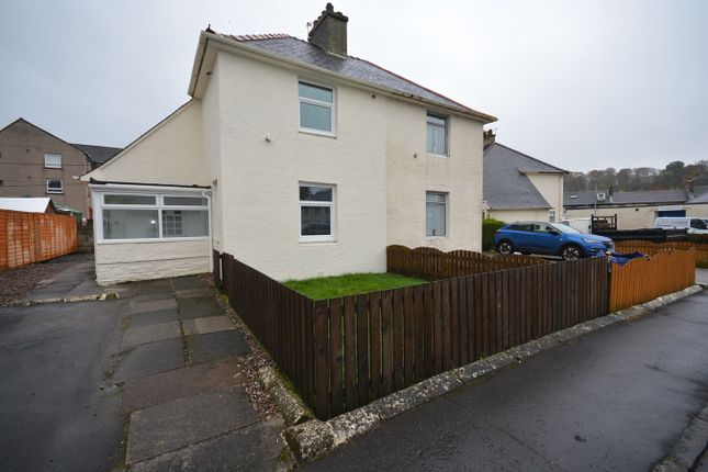 Thumbnail Semi-detached house for sale in King's Crescent, Newmilns