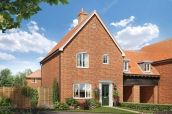 Thumbnail Link-detached house for sale in The Heather, Station Road, Framlingham, Suffolk