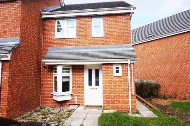 Thumbnail Semi-detached house for sale in Lauder Way, Gateshead