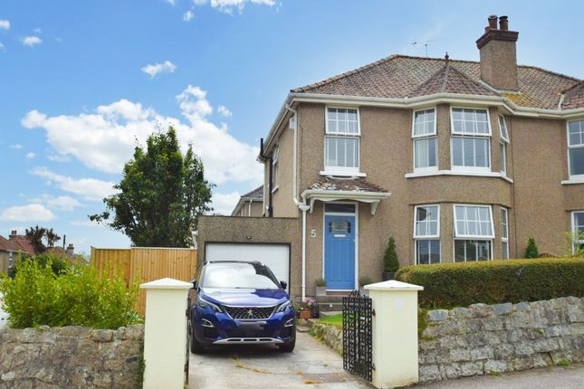 Thumbnail Semi-detached house for sale in Highfield Road, Falmouth