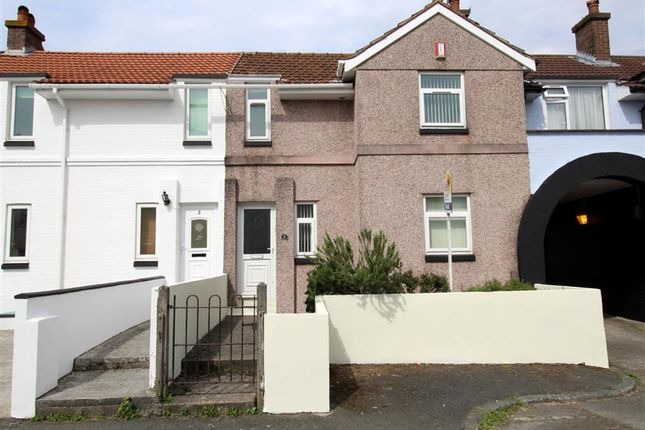 Thumbnail Terraced house for sale in Archway Avenue, Mount Gould, Plymouth
