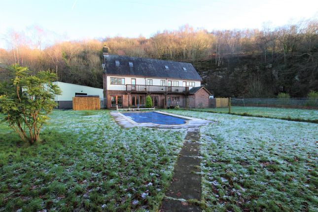 Thumbnail Detached house for sale in Heather View Road, Pontypridd