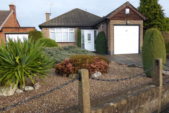 Thumbnail Detached bungalow for sale in The Bridle, Glen Parva, Leicester