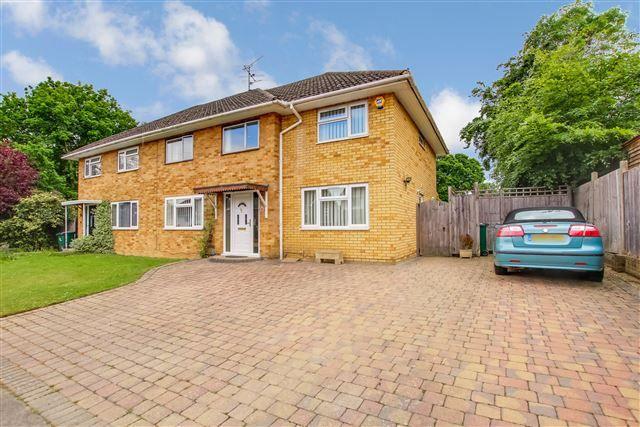 Thumbnail Semi-detached house for sale in Livingstone Road, Tilgate, Crawley
