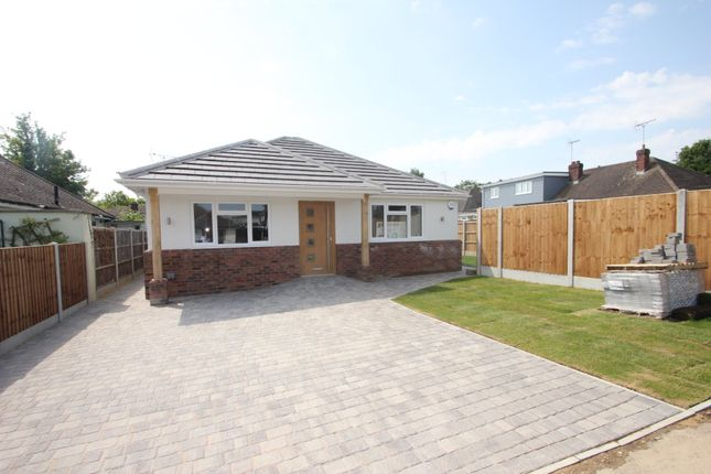 Thumbnail Detached bungalow for sale in Mount Avenue, Hockley