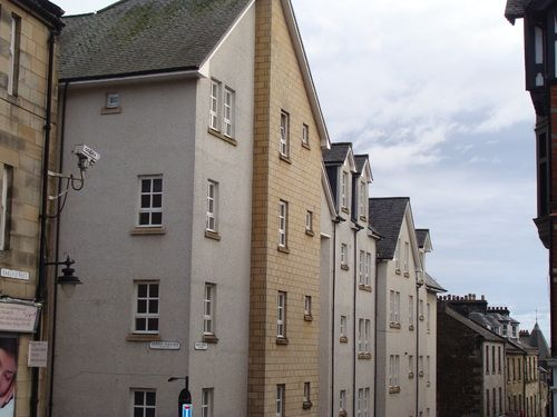 Thumbnail Flat to rent in Baker Street, Stirling