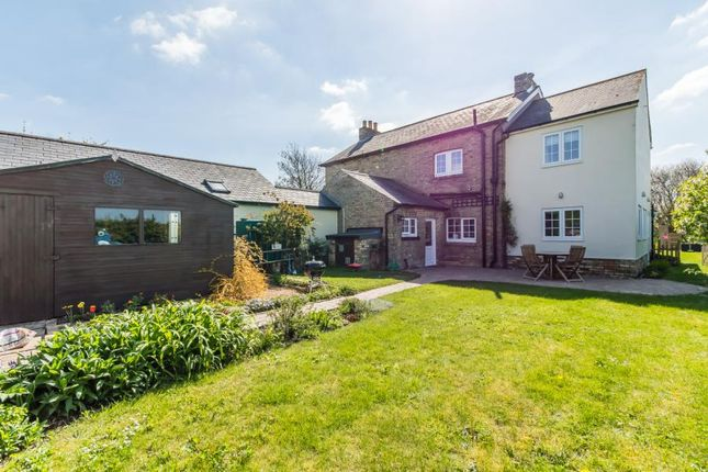 Thumbnail Semi-detached house for sale in The Kennels, Abbotsley Road, Croxton, St. Neots