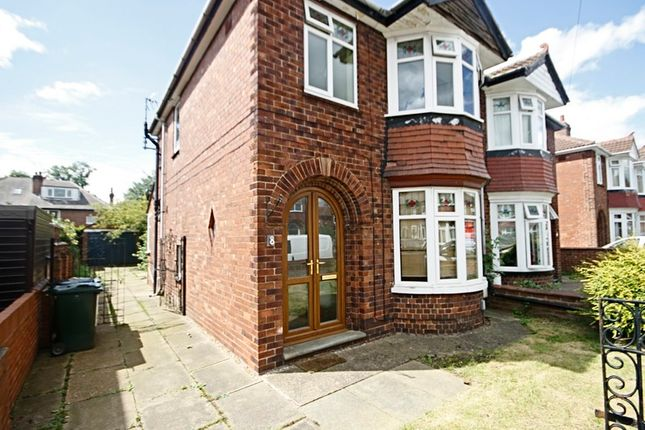 Thumbnail Semi-detached house for sale in Harewood Road, Intake, Doncaster