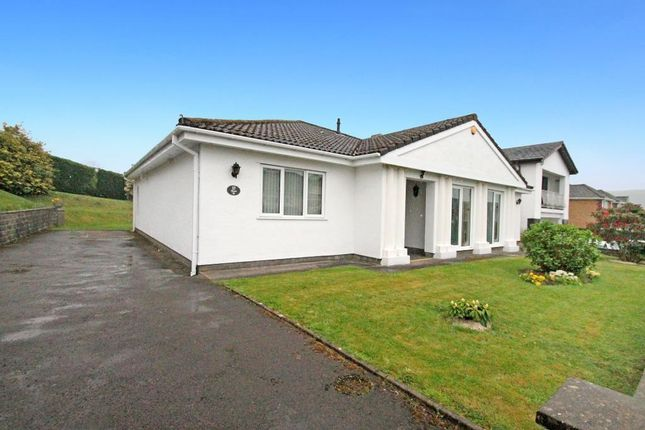 Thumbnail Bungalow for sale in Fford Las, Abertridwr, Caerphilly