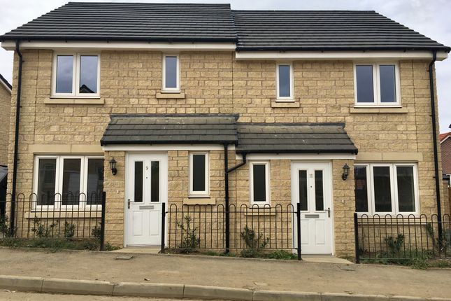 Thumbnail Semi-detached house for sale in Prince Charles Drive, Wiltshire