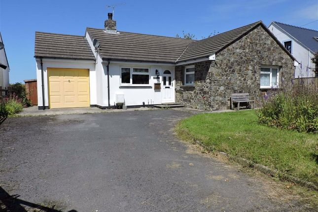Thumbnail Detached bungalow for sale in Bryn Henllan, Dinas Cross, Newport