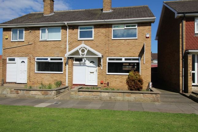 Thumbnail Semi-detached house to rent in Fosdyke Green, Middlesbrough