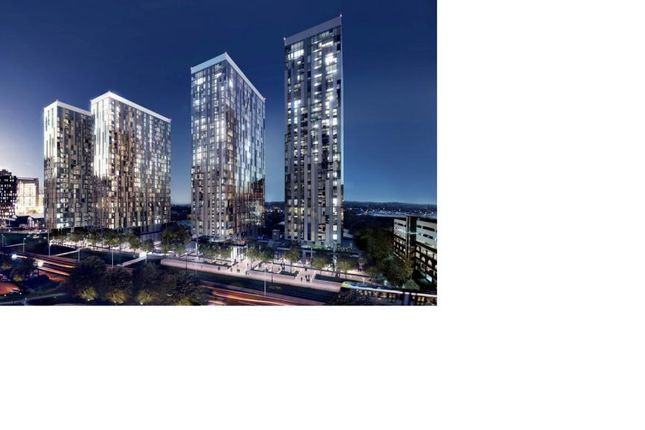 Studio for sale in X1 Media City Tower 4, Michigan Avenue, Manchester, Greater Manchester M50