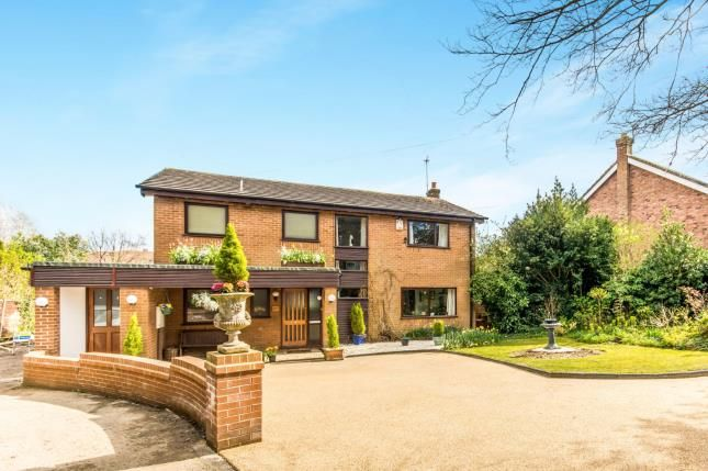 Thumbnail Detached house for sale in Chester Road, Hazel Grove, Stockport, Greater Manchester