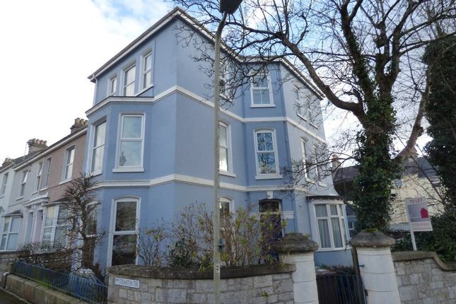 Thumbnail Flat to rent in Pentillie Road, Plymouth, Devon