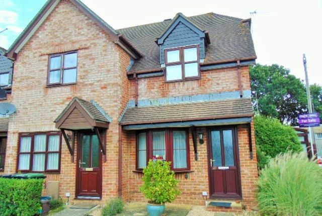 Thumbnail End terrace house for sale in Old Manor Close, Wimborne